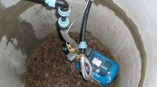 гидрофор в кессоне